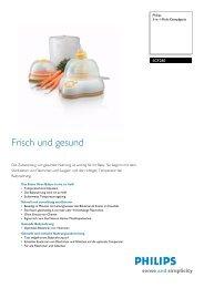 SCF280/00 PHILIPS 3-in-1-Multi-Dampfgerät - Onyougo.de