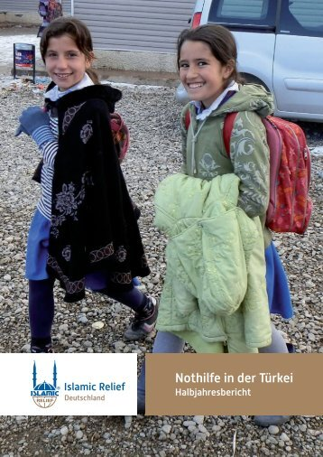 Nothilfe in der Türkei - Islamic Relief