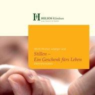 Stillen – Ein Geschenk fürs Leben - HELIOS Kliniken GmbH
