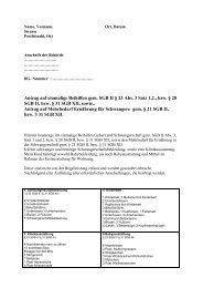 Antrag Auf Einmalige Beihilfen Dessau