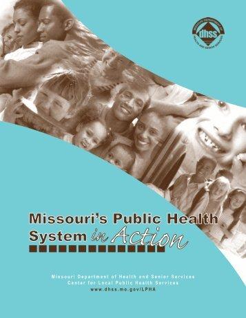 Missouri's Public Health System - Missouri Department of Health ...