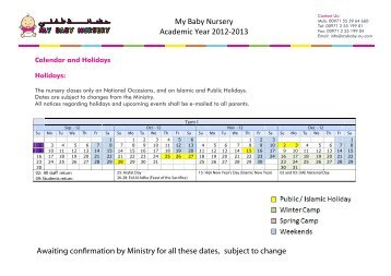 my academic 2013 Academic calendars for the university of nottingham malaysia campus, including public holidays, pre-sessional and in-sessional english courses, foundation, undergraduate and postgraduate courses.