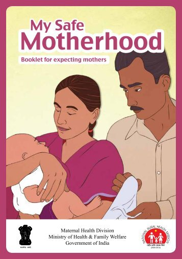 Booklet for expecting mothers - NRHM Manipur
