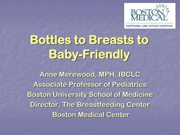 From Bottles to Breasts to Baby-Friendly… - New Jersey Chapter