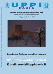 Download - UPPI - Unione Piccoli Proprietari Immobiliari