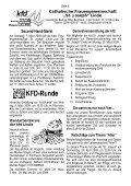 "Pfarrinformationen ""St. Joseph"" Linde - Bürgerverein Linde eV - Page 4"