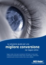 migliore conversione - FACT-Finder