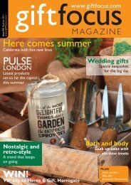 Here comes summer - Gift Focus magazine