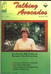 this page is sponsored - Industry - Avocados Australia - Australian ...