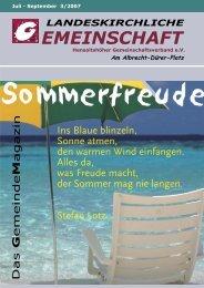 """Beziehungen – """"im Rahmen"""" der Liebe Gottes - Landeskirchliche ..."""