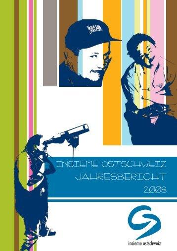 jahresbericht 2008 - insieme ostschweiz