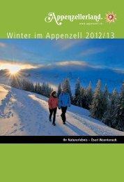 Winter im Appenzell 2012/13 - Appenzellerland Tourismus