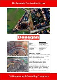 to see the project details - Donegan Civil Engineering