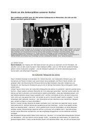 Kulturpreisverleihung 2007 - Sinfonisches Blasorchester ...