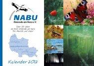 Kalender 2012 - NABU Osterode