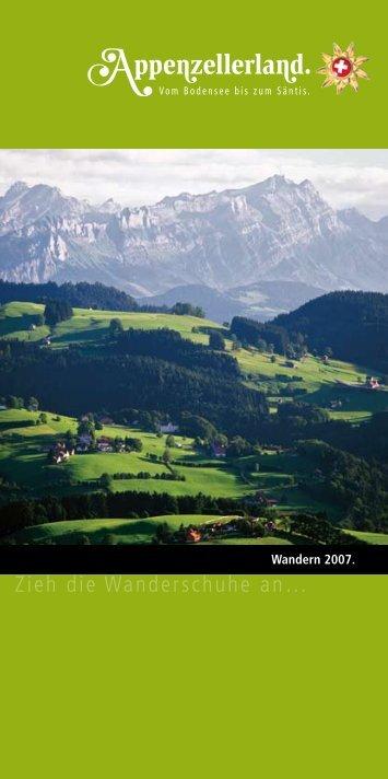 Wanderung. - Appenzellerland