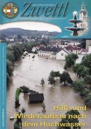 Gemeindenachrichten Zwettl 4/2002 (3,69 MB)