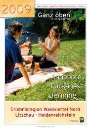 Angebote Packages Termine - Heidenreichstein