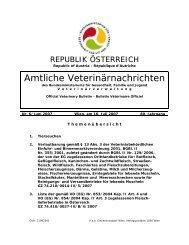 Verwaltungsbezirke in Österreich - Bundesministerium für Gesundheit
