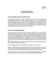 Konzern: Lagebericht 2008