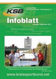 Ausgabe September 2011 - Kreissportbund Sächsische Schweiz ...