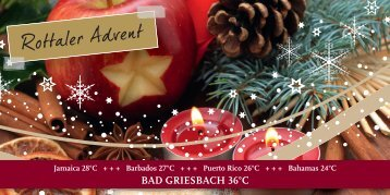 Rottaler Advent in Bad Griesbach