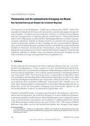 Themennetze und die systematische Erzeugung von Neuem