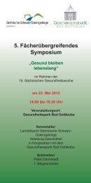 5. Fächerübergreifendes Symposium - Landkreis Sächsische ...