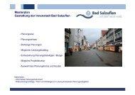 Masterplan Gestaltung der Innenstadt Bad Salzuflen