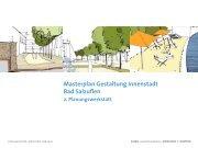 Masterplan Gestaltung Innenstadt Bad Salzuflen
