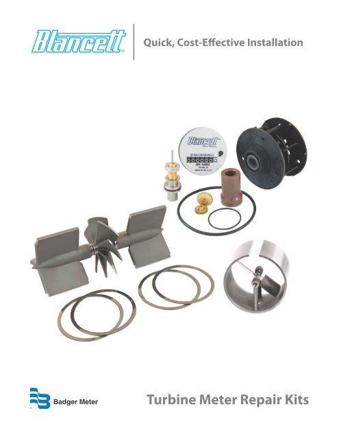 Model 200 Multi-Jet Flow Meter Repair Kits - Blancett