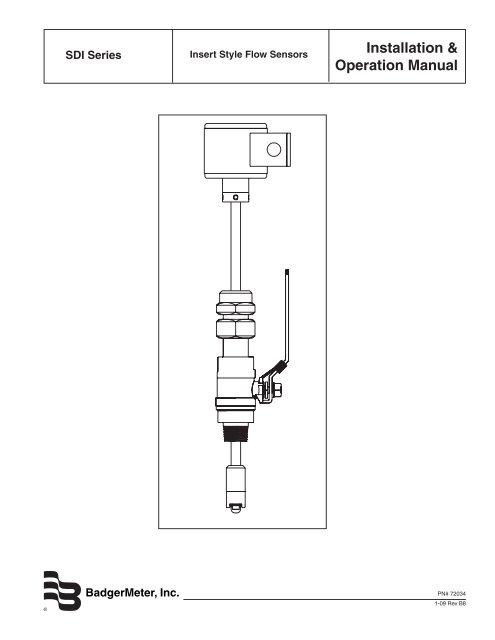 Badger Flow Meter Wiring Diagram