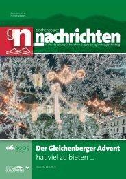 Frohe Weihnachten - Gleichenberger Nachrichten
