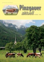 aktuellNr. 224/225 1/2012 - PINZGAUER RINDherum das Beste