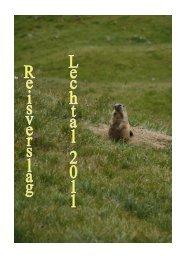 Dag 1 – donderdag 11 augustus 2011 - Lechtal