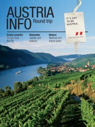 INFORound trip - Wine Tourism in Austria