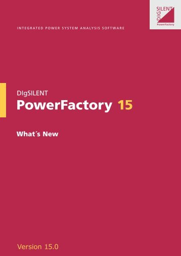 PowerFactory 15 - DIgSILENT