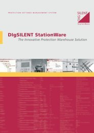 DIgSILENT StationWare The Innovative Protection Warehouse