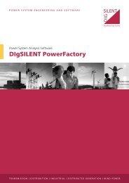 PowerFactory 14.0 Flyer - DIgSILENT