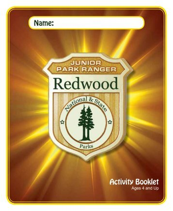 Activity Booklet Name: - National Park Service