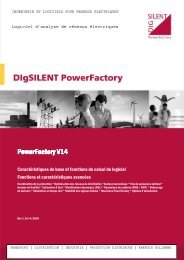 PowerFactory v14 - Rev  1.14-4-2010 - French - 82 pages - DIgSILENT