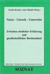 Natur - Umwelt - Unterricht - Gute UnterrichtsPraxis