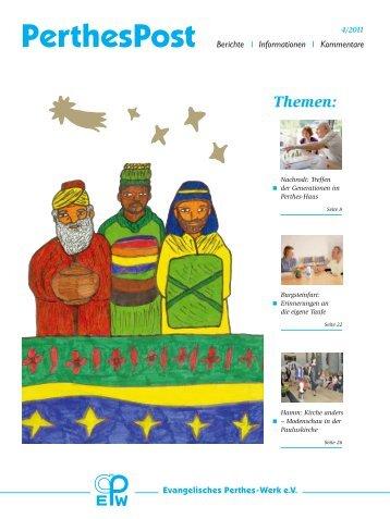 PerthesPost_04-11.pdf - Evangelisches Perthes-Werk eV