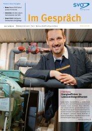 Energieeffizienz im Lebensmittelgroßhandel - SVO Internet Vertrieb