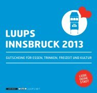 LUUPS INNSBRUCK 2013