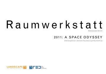 Raumwerkstatt WS 2010/11 - Fachbereich Landschaftsplanung und ...