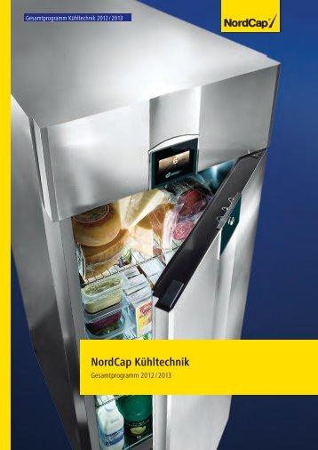 NordCap Kühltechnik - Gesamtprogramm 2012/ 13 - Profitechnik für ...