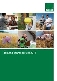Bioland Jahresbericht 2011