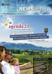 Andrea - auf der Homepage der Gemeinde Gampern!