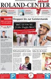 Mitarbeiter Kunden- information (m/w) - Roland-Center, Bremen